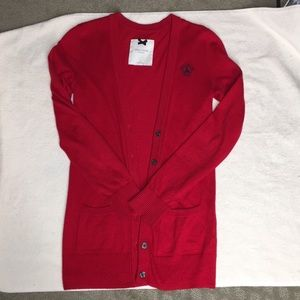 Gilly Hicks Red cardigan